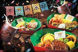 USJワンピース2019海賊食堂(ディスカバリー・レストラン)の開催場所やメニューは?