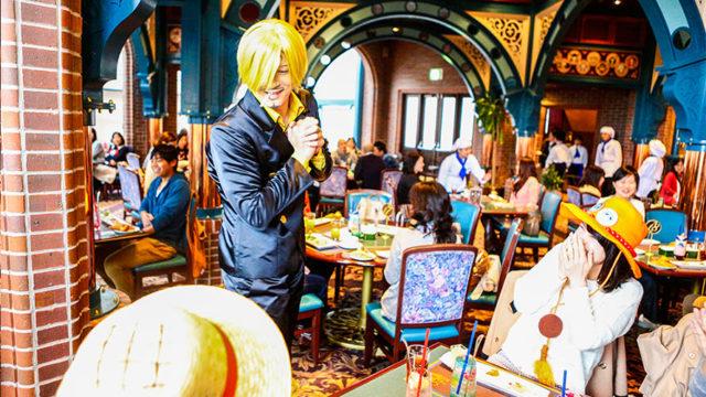 USJワンピース2019【サンジの海賊レストラン】開催期間やメニュー・チケット購入方法も!