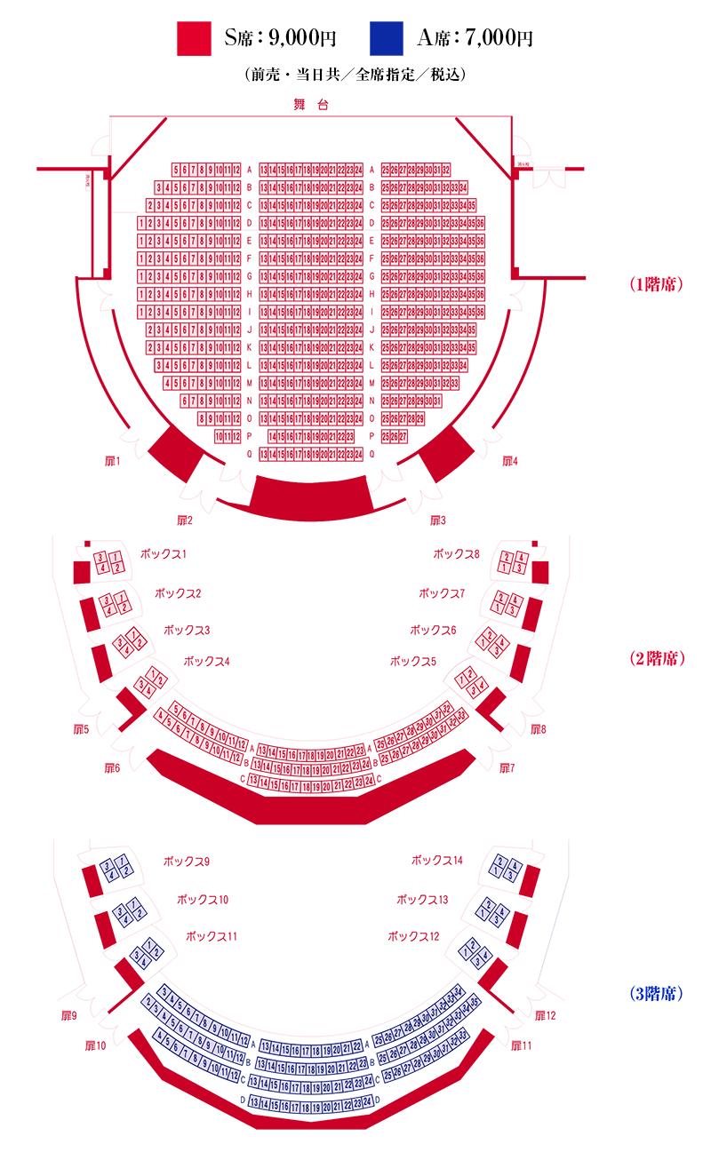 NARUTOナルト舞台2019のチケット購入方法や座席表は?公演日程や注意点も