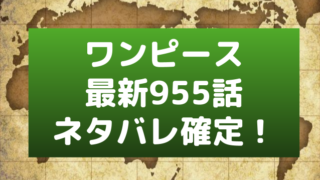 ワンピース955